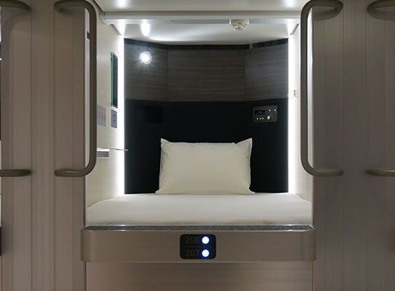 Capsule hotel only for women