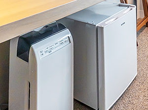 Refrigerator & Humidifier/Air Purifier